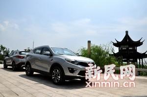 SUV世界新标杆——试驾东南DX7