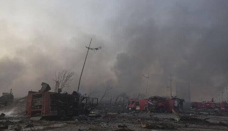 天津爆炸死亡人数继续上升 已致55人死
