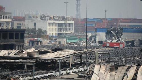 天津港爆炸事故致114人遇难 失联人数降为57人
