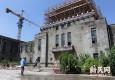 探访旧上海图书馆修缮:壁龛密室道出彩顶秘密