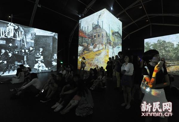 梵高感映大展上海收官 4个月近36万人观看