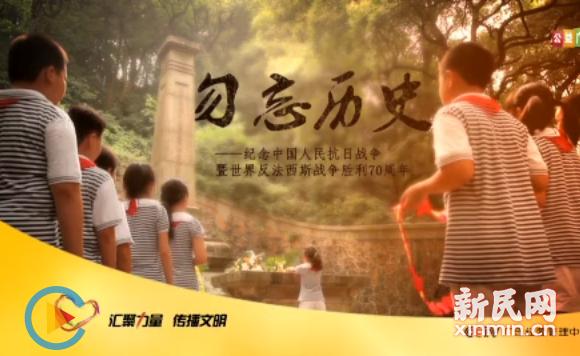 抗战胜利70周年主题公益广告:胜利花