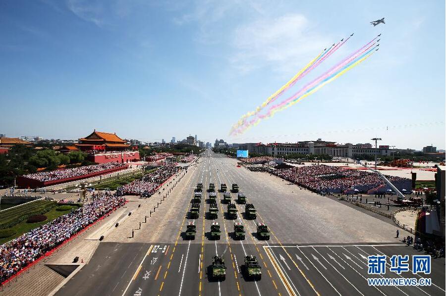 中国纪念抗日战争70周年大阅兵