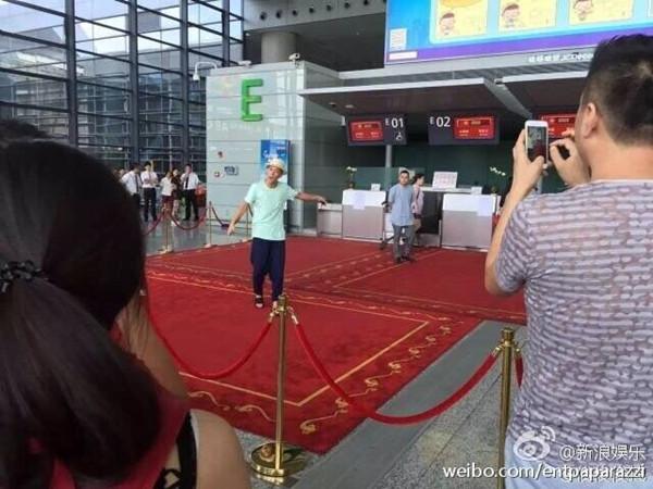 网曝陈冠希虹桥机场阻止插队引冲突 警方:双方达成调解