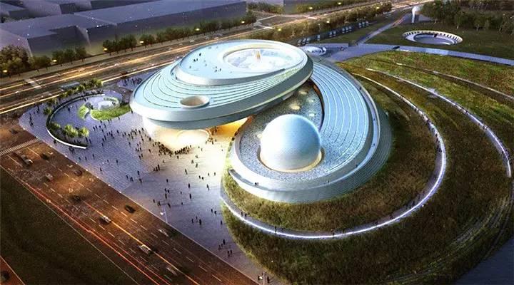 上海终于要有自己的天文馆啦!全球最大!16号线直达!