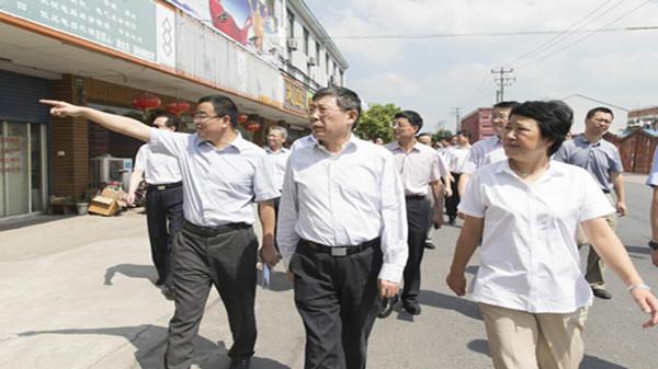 杨雄:青东农场地区综合整治要一抓到底