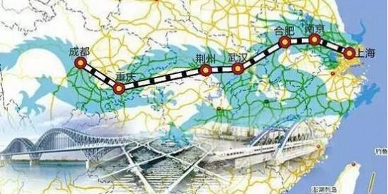上海到成都要通高铁啦!