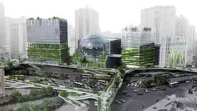 未来徐家汇:空中连廊可达任意角落