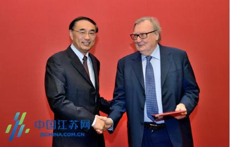 诺贝尔奖获得者受聘中国矿大 出任院长打造学