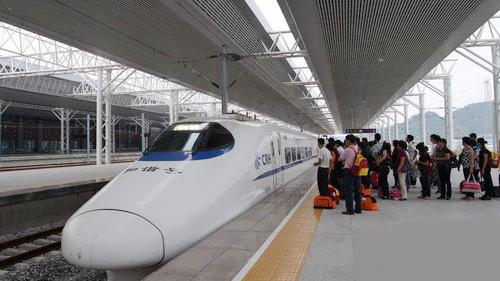 国庆假期最后三天 京沪高铁车票紧张