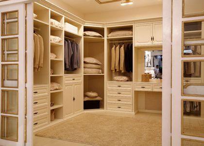 家装整体衣柜效果图让房屋室内改造更完美
