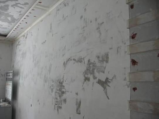 不同的墙面基层处理