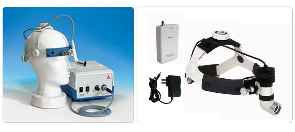 一体化结构与电路设计,将传统分离式外置电池盒,外置光源箱,医用头灯
