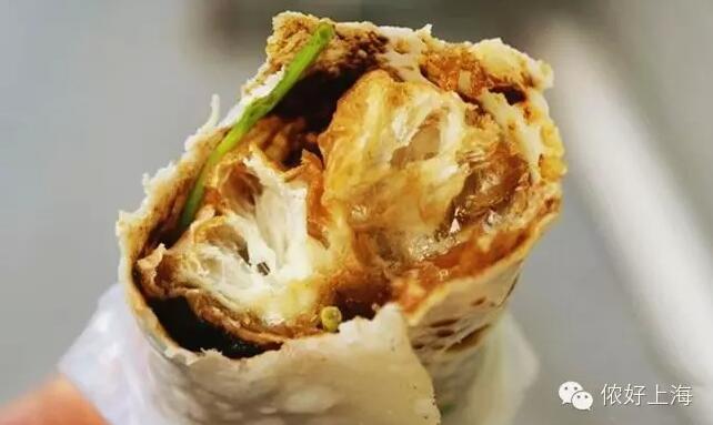 上海人居然喜欢吃包脚布!