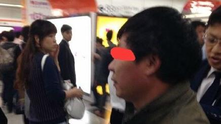 上海地铁7号线车厢又现