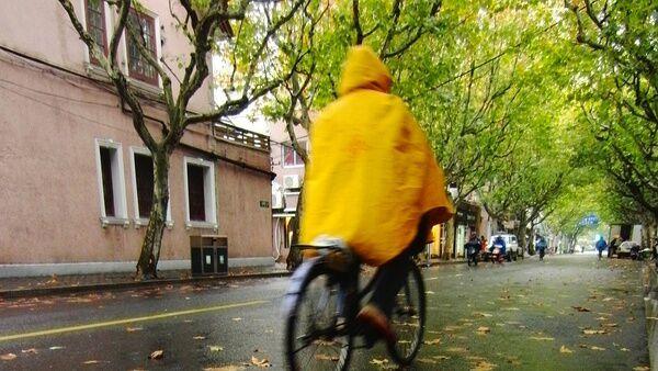 冷!雨是停了 但气温大!幅!下!降!