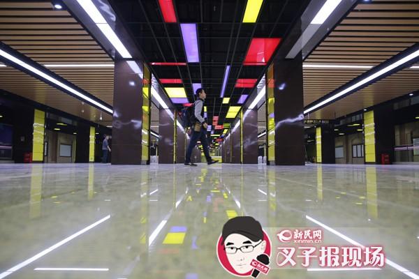 探营轨交十三号线:站站有特色 串起科普和时尚地标