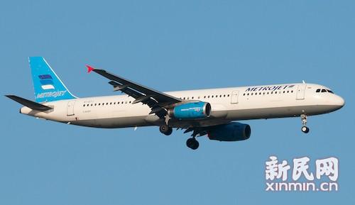 失事的同型号飞机 图片来源:JetPhotos.net-一载219人俄罗斯客机在