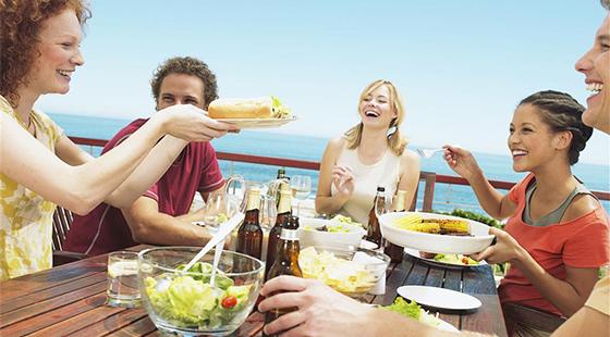 聚餐吃撑?这五种食物解救你!