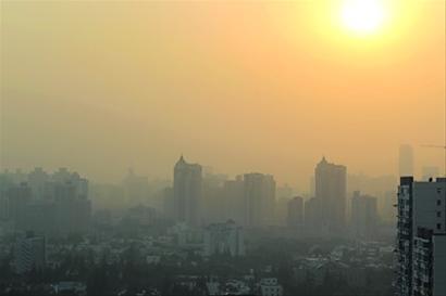 上海空气中度污染!各区气温全面进入1时代