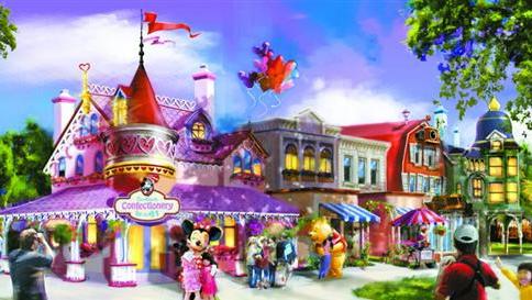 上海迪士尼解密:将诞生全球首个米奇迎宾大街