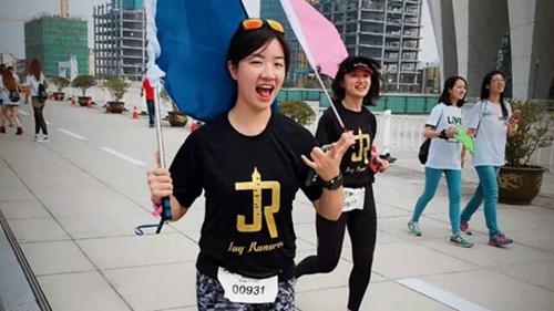 JR跑团团长傅佳音:跑出爱的轨迹