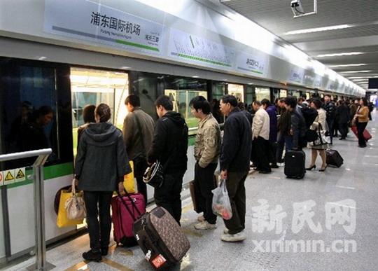 2号线延伸段8节编组列车有望直达浦东机场