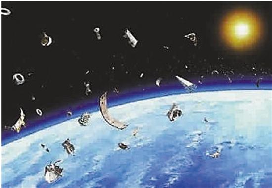 太空垃圾越来越多,给航天器和卫星造成巨大威胁。