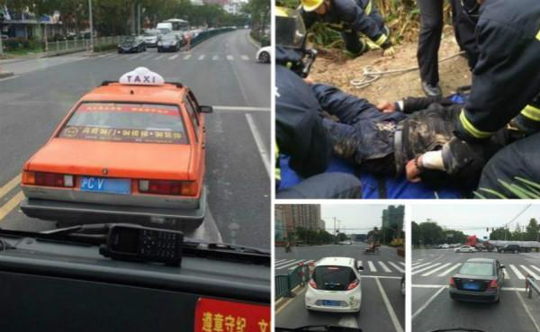上海消防车出警救人,十字路口有车辆拒不让路,你怎么看?