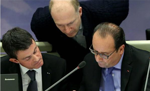 奥朗德宣布法国将进入紧急状态