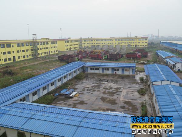 防城港中外运东湾仓储物流基地二期项目顺利推进