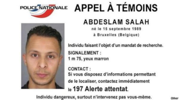 法国恐怖袭击案唯一逃跑嫌犯被抓 曾被警方放行