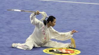 郭利娟获第13届世界武术锦标赛太极拳女子冠军