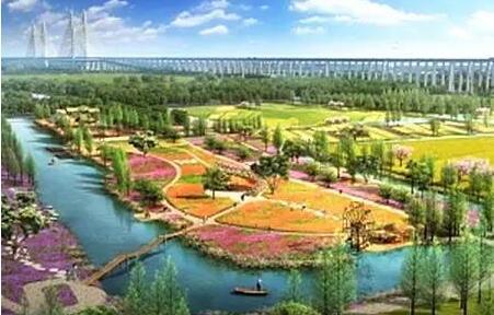 未来的上海要变成一座大花园啦!