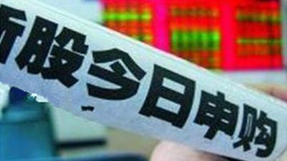 "IPO重启新股今起申购 股民卖股抢食""打新盛宴"""