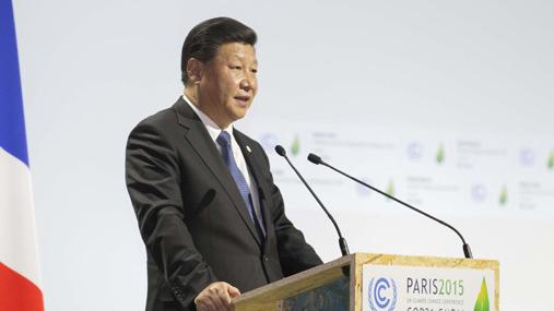 习近平在气候巴黎大会讲话:照顾国情 讲求务实