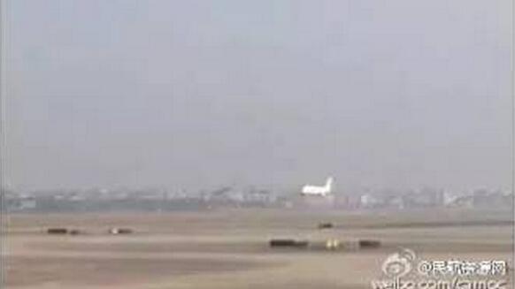 跑道上发现飞机轮胎碎片 萧山机场一架飞机迫降
