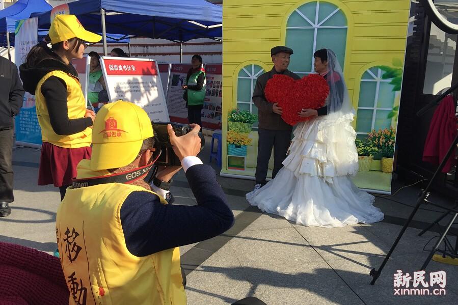 """""""感谢志愿者,结婚45年终于拍了婚纱照"""""""