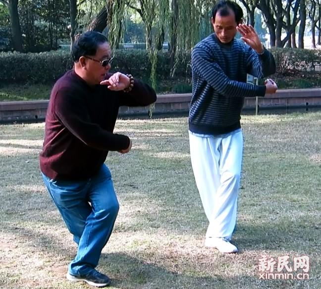 【杨式太极拳】济南太极名家于学模老师来沪传授太极拳