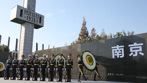 17位幸存者和百位海外友人参加国家公祭仪式