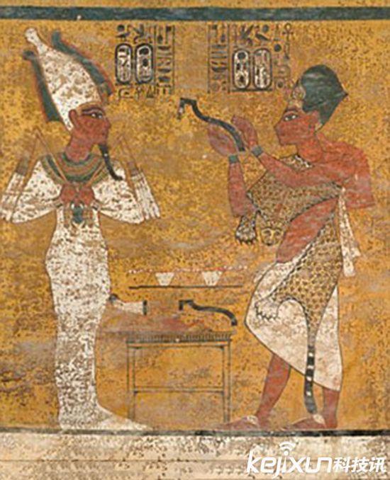 震惊 埃及法老图坦卡蒙生母之墓被发现图片