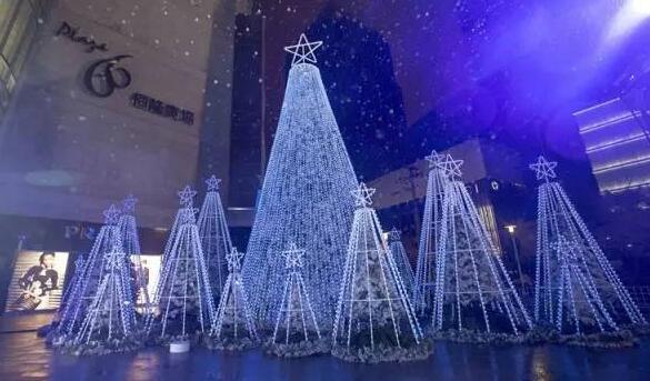 全上海最好看的圣诞树都在这里啦!