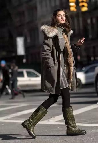 全智贤杨幂都在穿的派克大衣,你怎么能错过图片