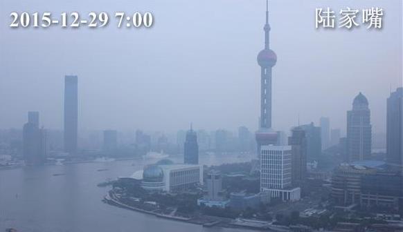 上海早晨气温较昨日下降 白天阳光作伴