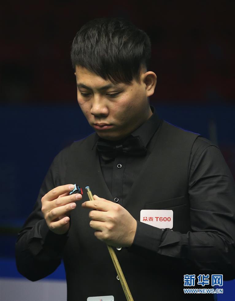中式八球国际大师赛:郑宇伯晋级