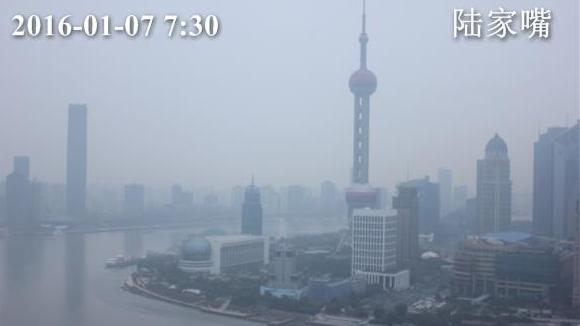 今晨上海气温较昨日回落 傍晚起南部有雨
