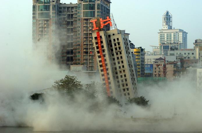 任志强称,房地产库存近7亿平米,难消化的只能炸掉,你怎么看?