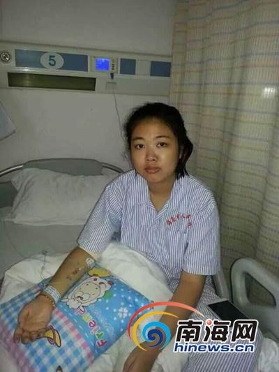 通讯员叶松)今年21岁,去年6月份才从海南工商职业学院毕业的定安姑娘