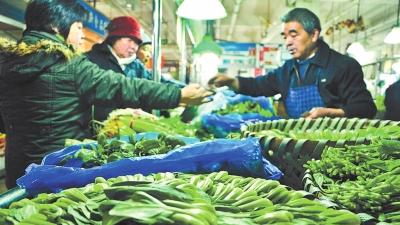 强冷空气来袭:市民急囤菜 蔬菜价格升至一年最高点