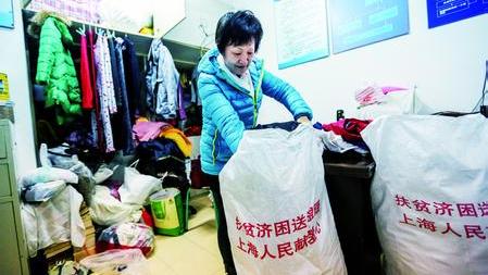上海虹口设流浪者临时避寒所 露宿人员得救助